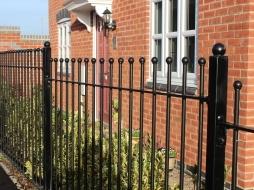 Ball top railing